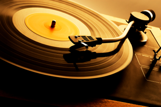 45rpm by dropcards add music download cards to your for Table tournante