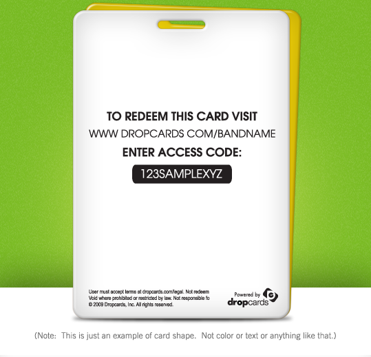 Download a Template Dropcards The Industry Leader In Custom